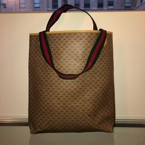 Gucci Tote Bag Vintage